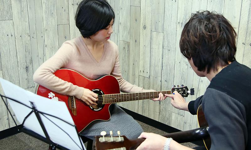 アコースティックギターレッスン